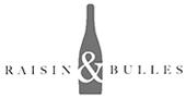 Logo raisin et bulles